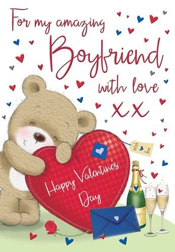 BOYFRIEND BEAR HEART