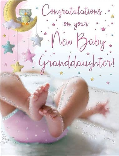 Congratulations On Your New Baby Granddaughter