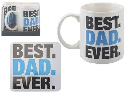 DAD MUG & COASTER SET  11OZ
