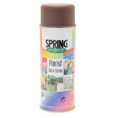 Dark Brown Euro-Aerosols Spray Paint *Not available for shipping to NI