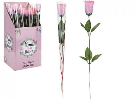 DELUXE ARTIFICIAL GLITTER ROSE 734078
