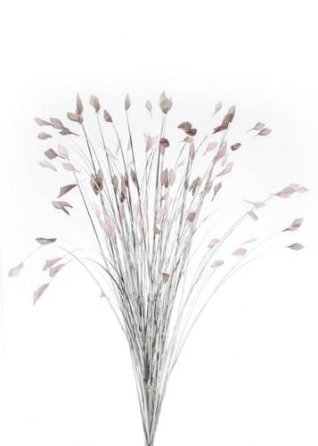 DF19317-A Silver Grass With Grey/Pink Tips 85cm