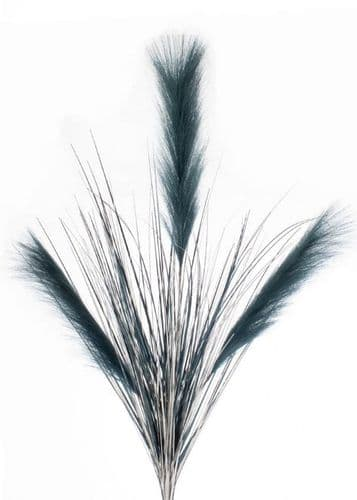 DF19337-B Navy/Silver Grass With Navy Reeds 88cm