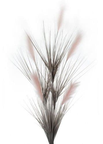 DF19338-A 2 Tone Grey Grass With Pink Reeds 160cm