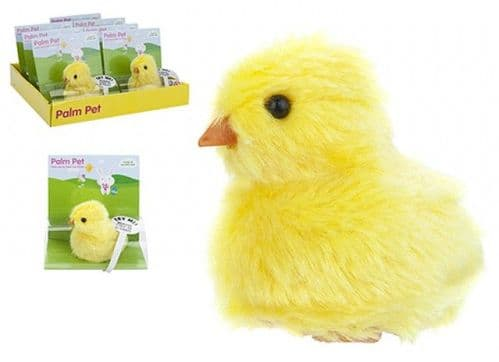 Easter. Chick  Push Palm Pet