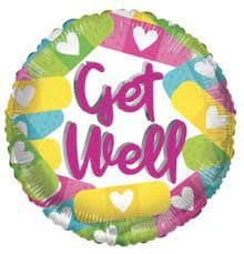 ECO Balloon - Get Well Band Aids (18 Inch)