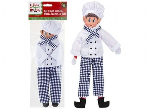 ELVES BEHAVIN BADLY CHEF OUTFIT