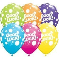 """GOOD LUCK DOTS 11"""" TROPICAL ASSORTED (25CT)"""