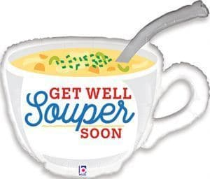 "Grabo 31"" Get Well Soup"
