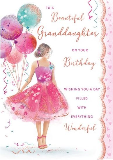 Granddaughter Birthday Panache