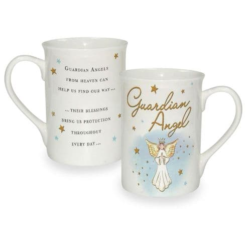 Guardian Angel Sentiment mug boxed