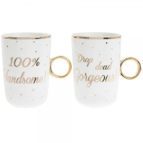 Handsome / Gorg Mugs Set Of 2 gift