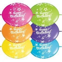"""HAPPY BIRTHDAY QUICK LINK 12"""" TROPICAL ASSORTED (50CT)"""
