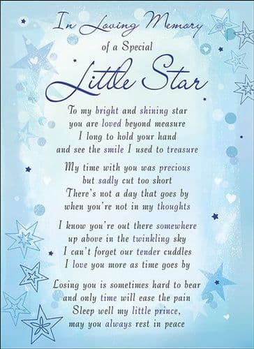 In Loving Memory Of A Special Little Star