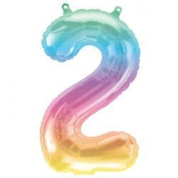 """JELLI OMBRE NUMBER 2 SHAPE 16"""" PKT"""