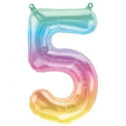 """JELLI OMBRE NUMBER 5 SHAPE 16"""" PKT"""