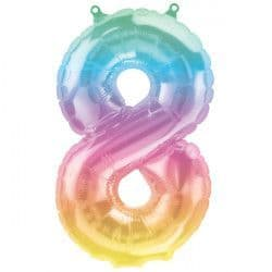 """JELLI OMBRE NUMBER 8 SHAPE 16"""" PKT"""