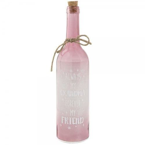 Led Bottle Pink Grandma gift