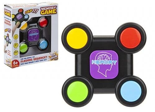 LIGHT AND MEMORY GAME BATTERY OPERATED WITH TRY ME