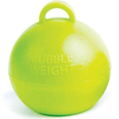 Lime Green Ball Weights