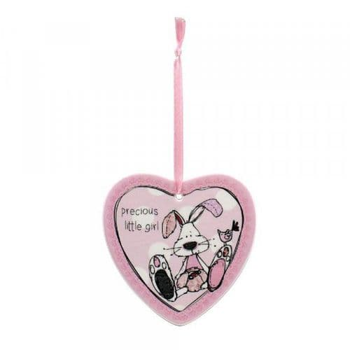 LITTLE MIRACLES PINK HEART PLQ gift