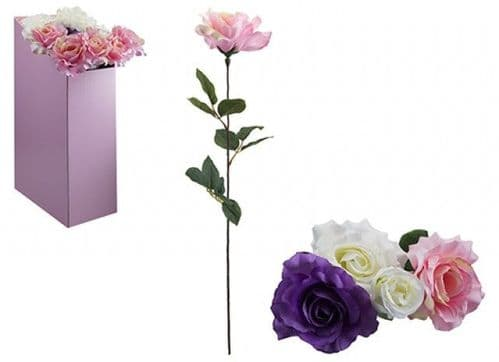 LUXURY ROSE IN ASSORTED  COLOURS