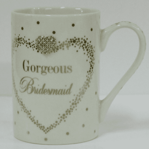 MAD DOTS BRIDESMAID MUG gift