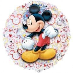 "MICKEY MOUSE 21"" HOLOGRAPHIC STREET TREAT SHAPE FLAT"