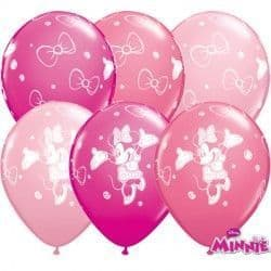 """MINNIE MOUSE 11"""" WILD BERRY, ROSE & PINK (25CT)"""