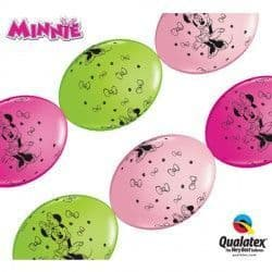 """MINNIE MOUSE QUICK LINK 12"""" PINK, WILD BERRY & LIME GREEN (50CT)"""