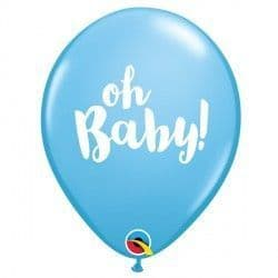 """OH BABY! 11"""" PALE BLUE (25CT)"""