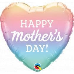 """PASTEL OMBRE MOTHER'S DAY 18"""" PKT"""
