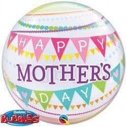 """PENNANTS MOTHER'S DAY 22"""" SINGLE BUBBLE"""