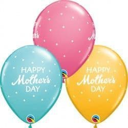 """PETITE POLKA DOTS MOTHER'S DAY 11"""" CARRIBEAN, GOLDENROD & ROSE (25CT)"""