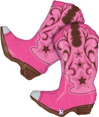 Pink Dancing Boots 36inch (C)