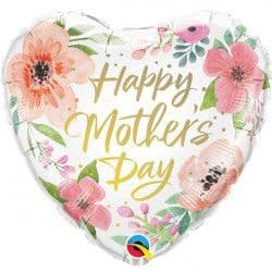"""PINK FLORAL MOTHER'S DAY 18"""" PKT"""