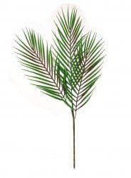 PLASTIC 3STEM PALM LEAF N.GREEN