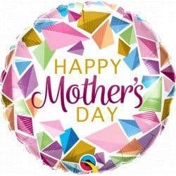 """Qualatex 18"""" Colourful Gems Mother's Day Packaged"""