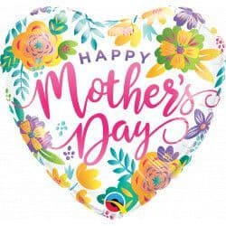 """Qualatex 18"""" Spring Floral Mother's Day Packaged"""