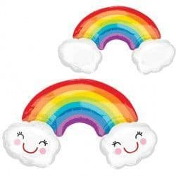 Rainbow with Clouds SuperShape