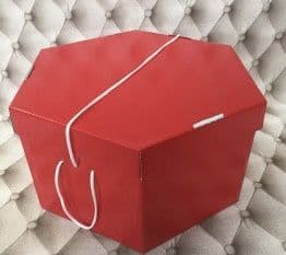 "Red Hat Box 11"" x 8""  279mm x 203mm"