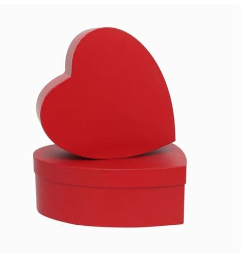 Red Heart Hat Box x 2 Lined