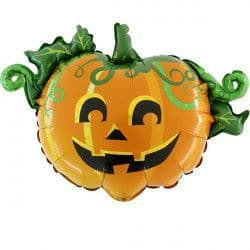 """SCARY PUMPKIN LINKY 17"""" AIR-FILLED"""