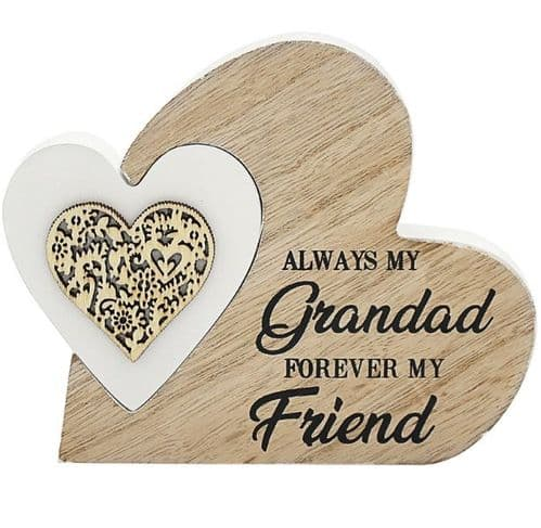 SENTIMENTS DOUBLEHEART GRANDAD gift