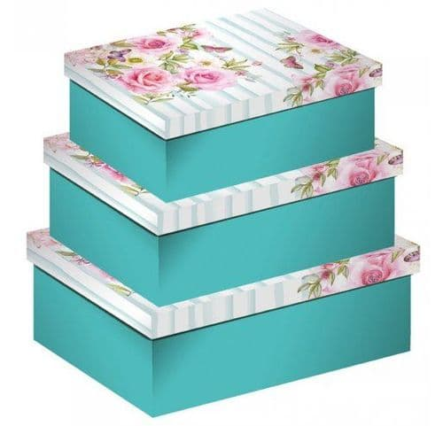 Set Of Three Nested Gift Box