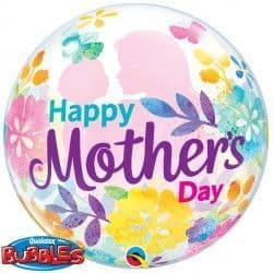 """SILHOUETTE MOTHER'S DAY 22"""" SINGLE BUBBLE"""