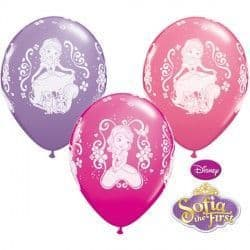 """SOFIA THE FIRST 11"""" WILD BERRY, PINK & SPRING LILAC (25CT)"""