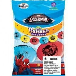 """SPIDER-MAN ULTIMATE QUICK LINK PARTY BANNERS 12"""" (10CT)"""