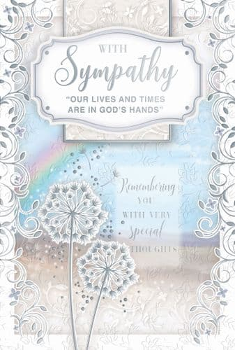 Sympathy In God's hands Female Trad - DL75075A/03 - CODE 75  6 Pack hand finished
