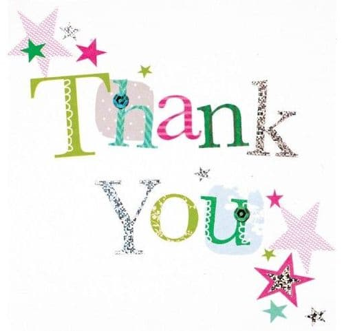 Thank You Cards Stars